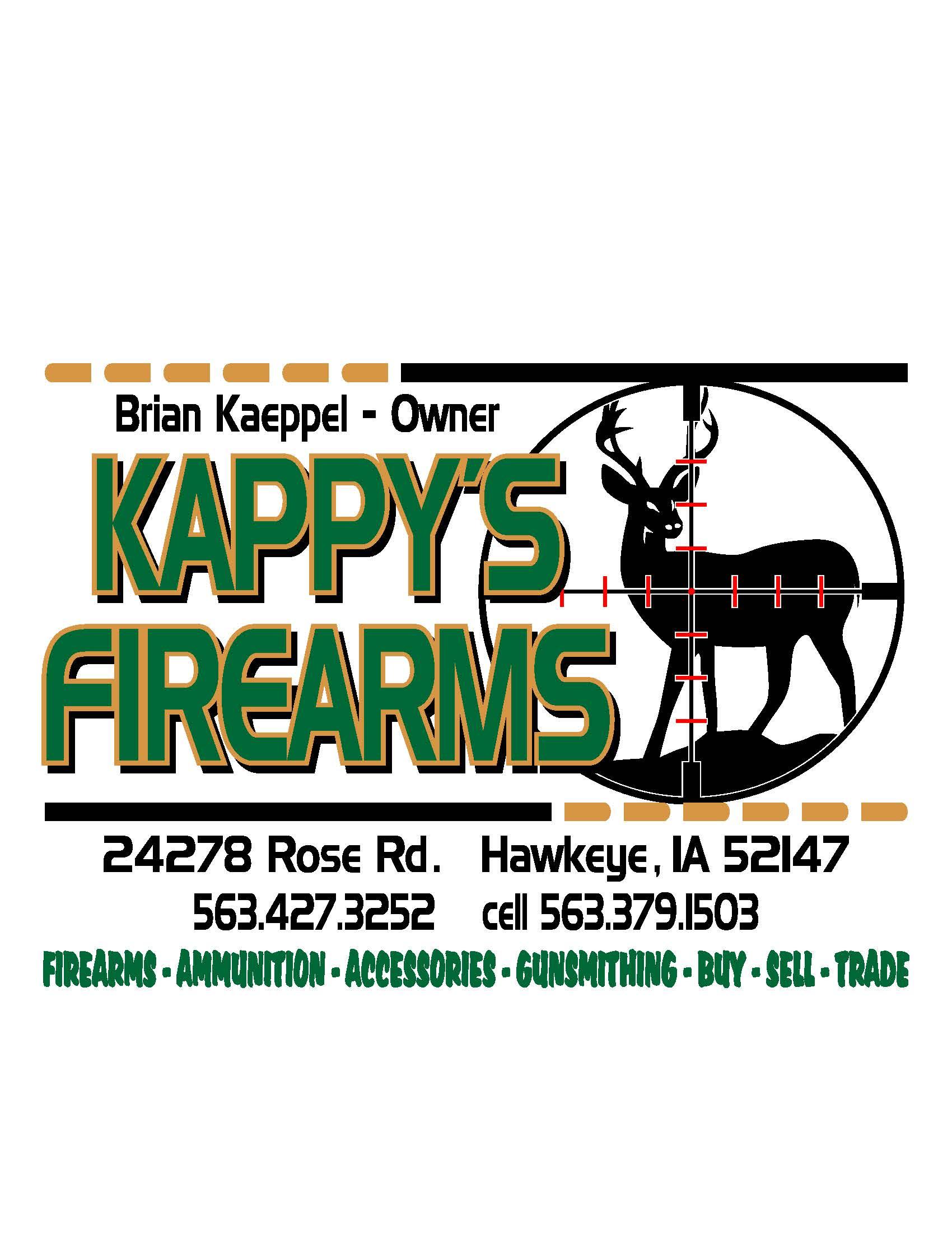 Kappy's Firearms Logo