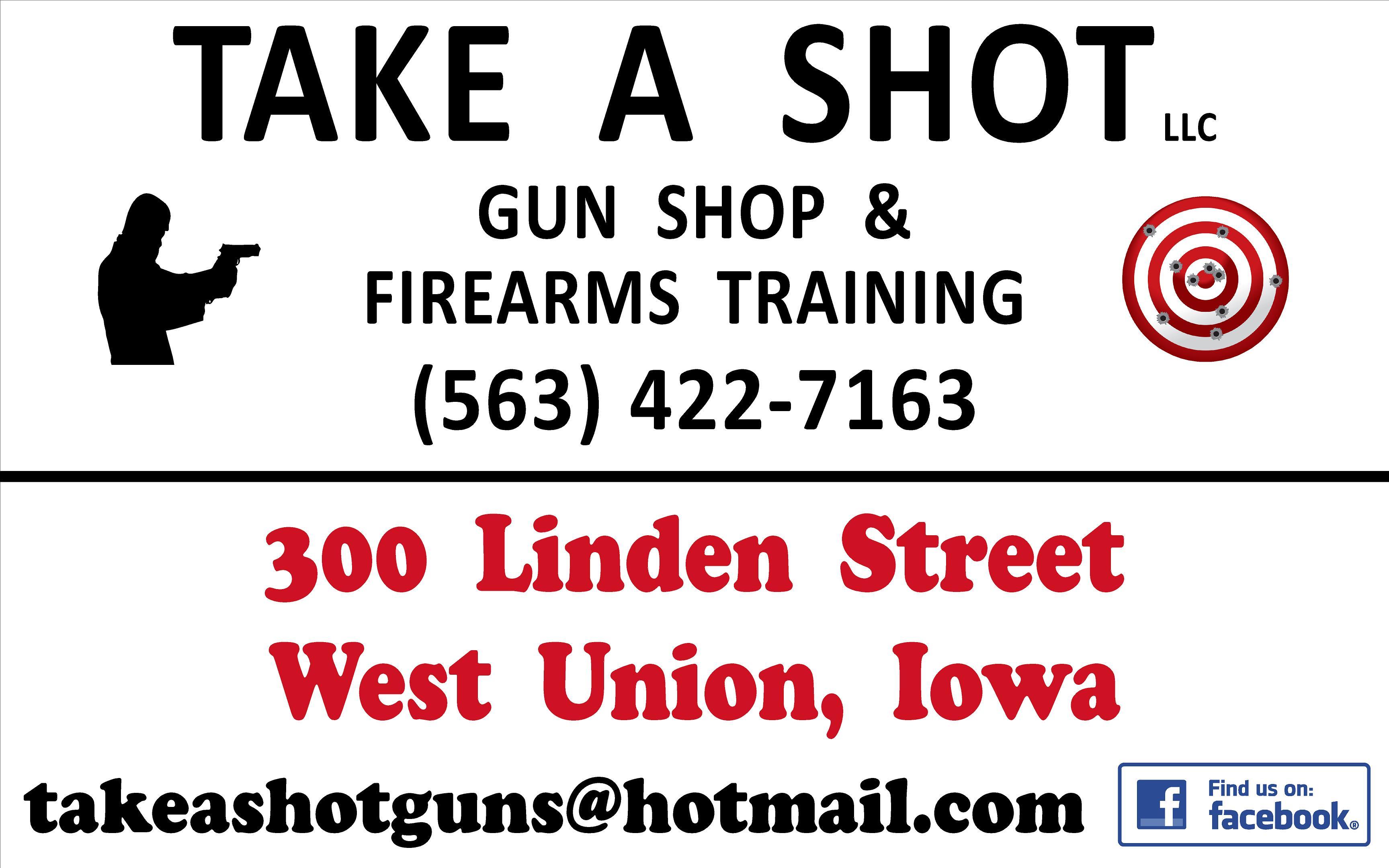 Take A Shot LLC Logo