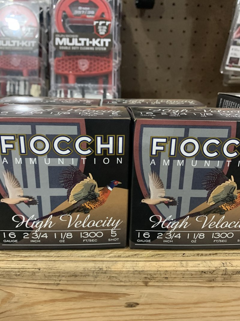Fiocchi high velocity 16 gauge 5 shot Picture