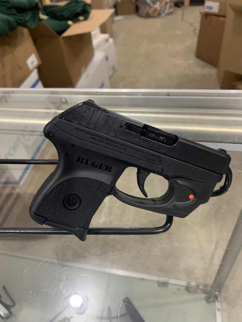 Ruger LCP 380 auto w/viridian laser Picture