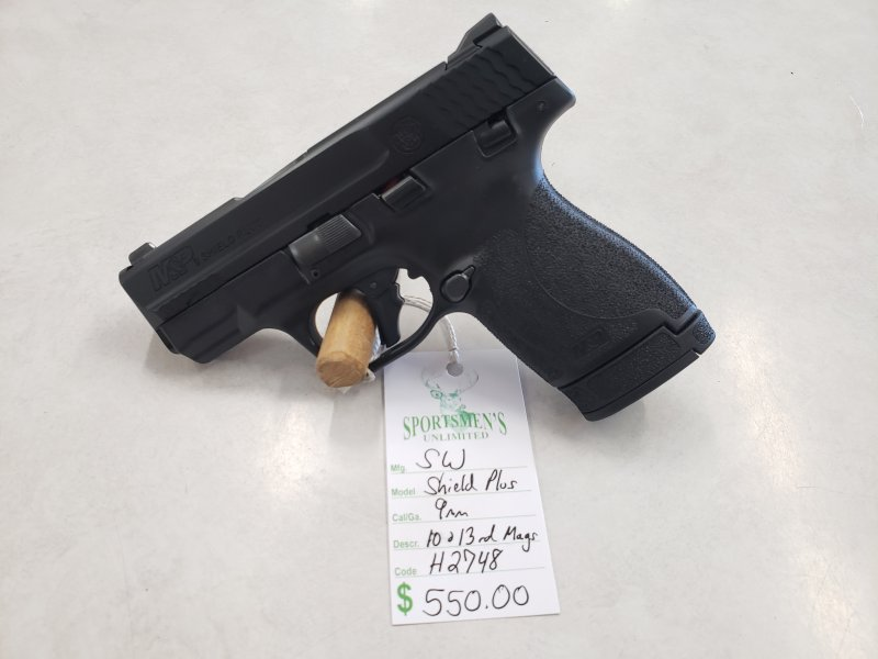 Smith and Wesson M&P Shield Plus Picture