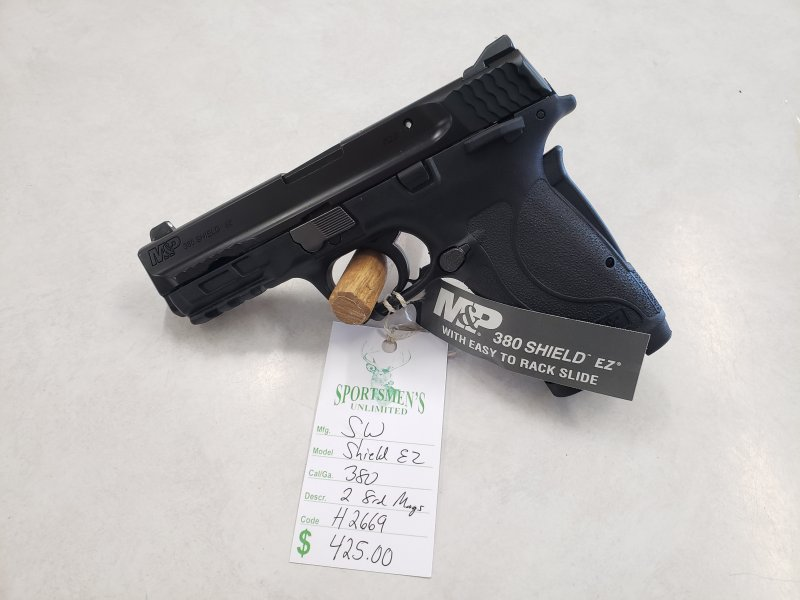 Smith and Wesson Shield EZ Picture