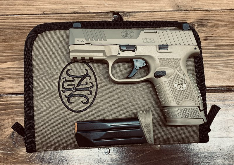 FN 509C FDE 9MM Picture