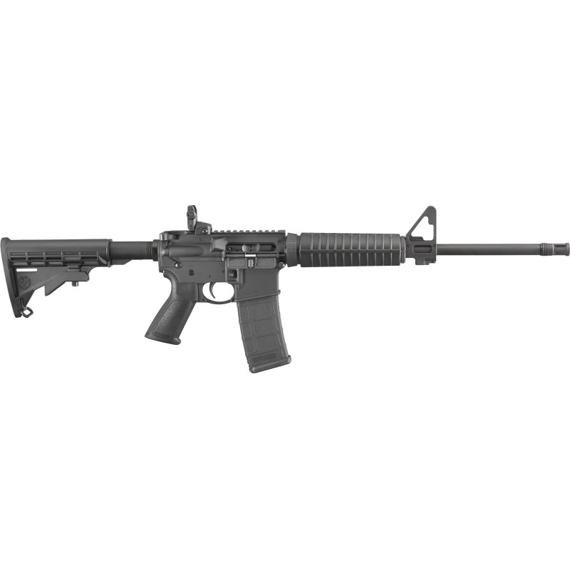 """Ruger AR-556 Forward Assist/Dust Cover Semi-auto 223 Rem/5.56 NATO 16.1"""" bbl 30-rd NEW #8500 Picture"""