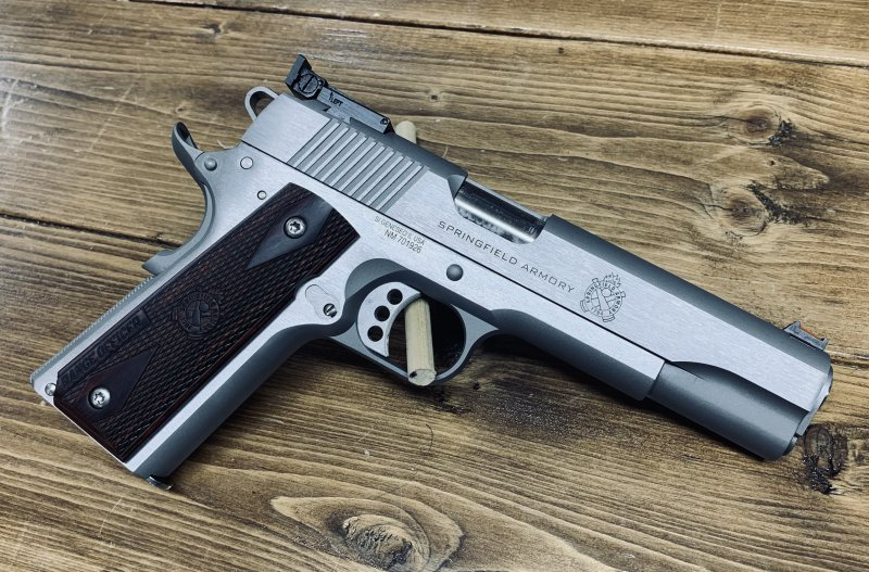 Springfield Armory 1911 Range Officer Picture