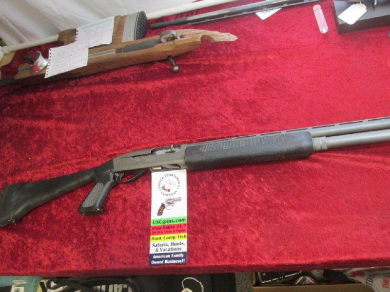 "Remington 1100 3-gun model 12 ga. 26"" bbl Extended Mag Tube BLK Syn. Picture"