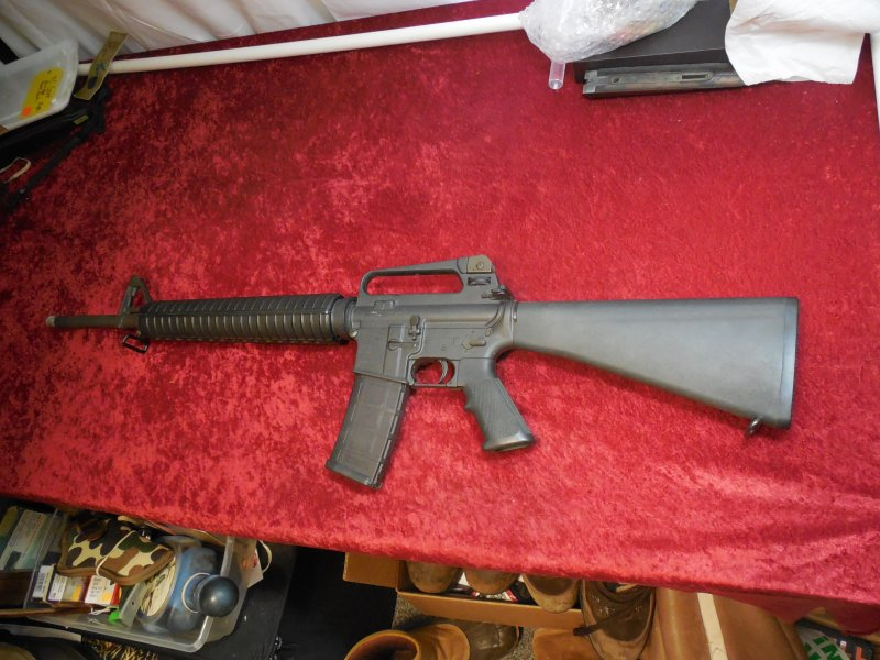 "Colt Sporter Match HBAR Pre-Ban 20"" TB, .223 cal semi-auto rifle Picture"