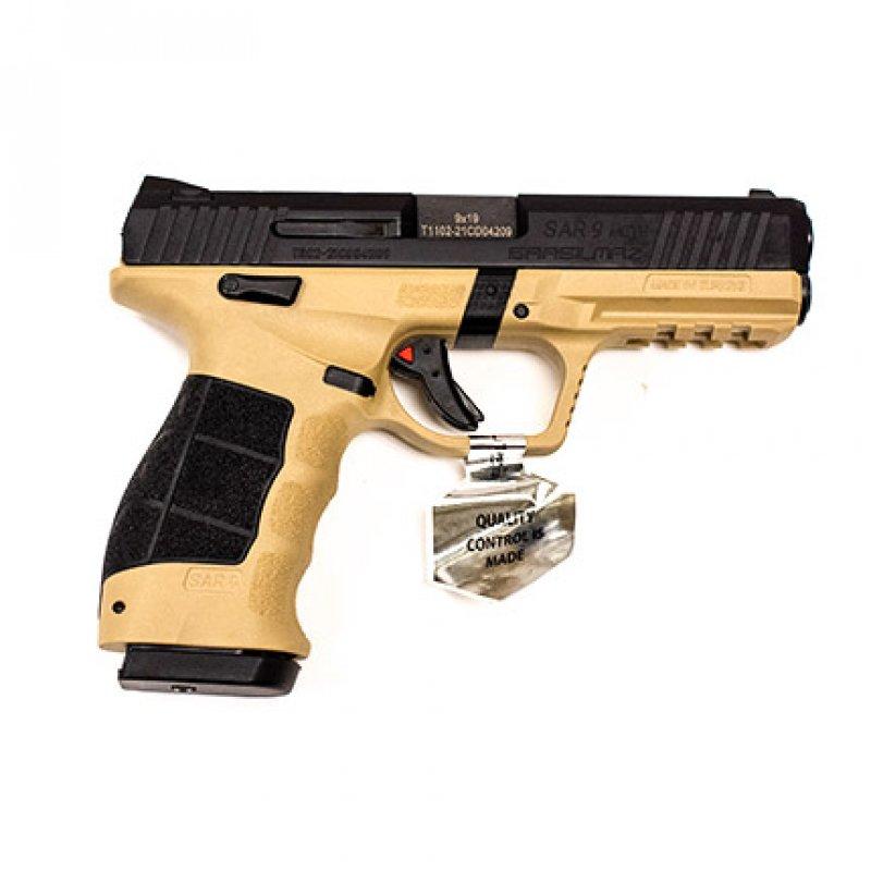 SAR-USA SAR9 METE Safari 9 mm pistol 17-rd (2) mags NEW #SAR9METESABL Picture