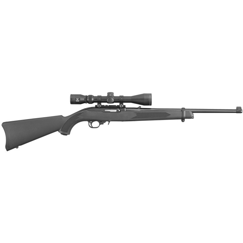 """Ruger 10/22 Carbine .22 lr 18.5"""" Blk Syn w/Viridian EON Scope NEW #31143 Picture"""